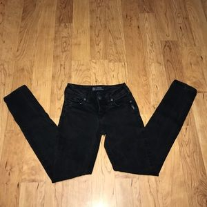 {Silver Jeans}Black Suki skinny jeans size 25x31